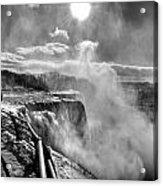002a Niagara Falls Winter Wonderland Series Acrylic Print