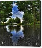 003 After The Rain At Hoyt Lake Acrylic Print