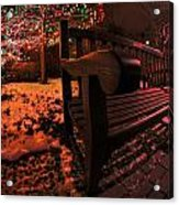 003 Christmas Light Show At Roswell Series Acrylic Print