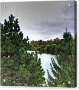 003 Hoyt Lake Autumn 2013 Acrylic Print
