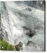 003 Niagara Falls Misty Blue Series Acrylic Print