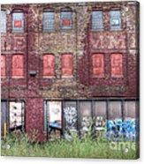 0037 Abandoned Warehouse Acrylic Print