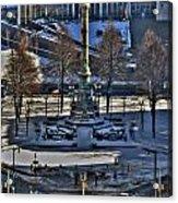0037 Birdseye View Of Lafayette Square Acrylic Print