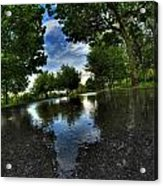 004 After The Rain At Hoyt Lake Acrylic Print