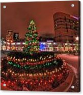 004 Christmas Light Show At Roswell Series Acrylic Print
