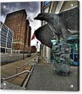 004 Court House Delaware Ave Acrylic Print