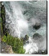 004 Niagara Falls Misty Blue Series Acrylic Print