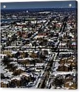 0042 After The Nov 2014 Storm Buffalo Ny Acrylic Print