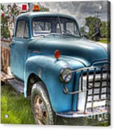 0042 Old Blue 2 Acrylic Print