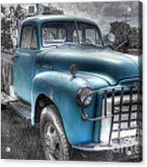 0043 Old Blue Acrylic Print