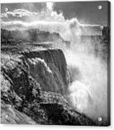 004a Niagara Falls Winter Wonderland Series Acrylic Print