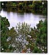 005 Hoyt Lake Autumn 2013 Acrylic Print