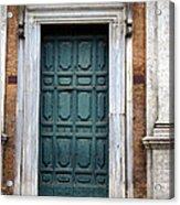 0053 Roman Door 2 Acrylic Print