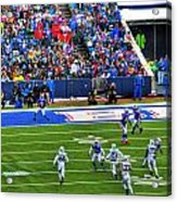 006 Buffalo Bills Vs Jets 30dec12 Acrylic Print