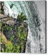 006 Niagara Falls Misty Blue Series Acrylic Print