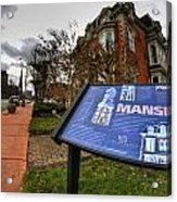 007 Mansion On Delaware Ave Acrylic Print
