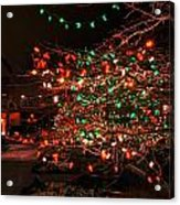 008 Christmas Light Show At Roswell Series Acrylic Print