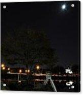 008 Japanese Garden Autumn Nights   Acrylic Print