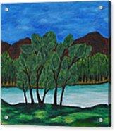 008 Landscape Acrylic Print