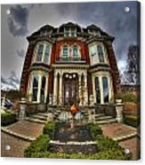 008 Mansion On Delaware Ave Acrylic Print