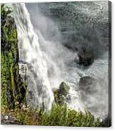 008 Niagara Falls Misty Blue Series Acrylic Print