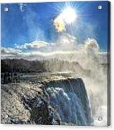 008 Niagara Falls Winter Wonderland Series Acrylic Print