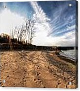 008 Presque Isle State Park Series Acrylic Print