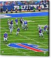 009 Buffalo Bills Vs Jets 30dec12 Acrylic Print