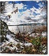 009 Grand Island Bridge Series Acrylic Print