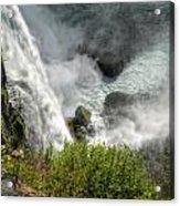 009 Niagara Falls Misty Blue Series Acrylic Print