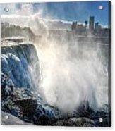 009 Niagara Falls Winter Wonderland Series Acrylic Print