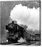 01 150 On Tracks In Franconia Acrylic Print