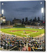 0101 Comerica Park - Detroit Michigan Acrylic Print by Steve Sturgill