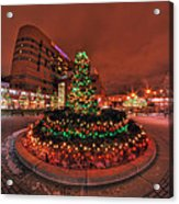 012 Christmas Light Show At Roswell Series Acrylic Print