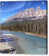 0149 Castle Mountain Acrylic Print