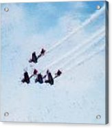 0161 - Air Show - Acanthus Acrylic Print