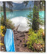 0162 Emerald Lake Acrylic Print