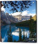 0164 Moraine Lake Acrylic Print