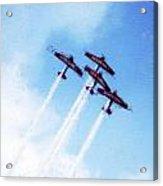 0166 - Air Show - Acanthus Acrylic Print