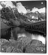 0166 Moraine Lake Acrylic Print