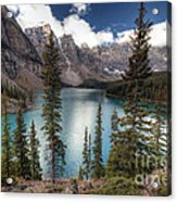 0184 Moraine Lake Acrylic Print