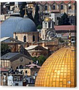 019 Jerusalem Acrylic Print