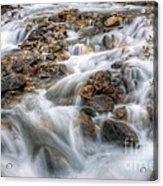 0190 Glacial Runoff 2 Acrylic Print