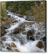 0192 Glacial Runoff Acrylic Print