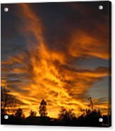 02 05 11 Sunset Two Acrylic Print
