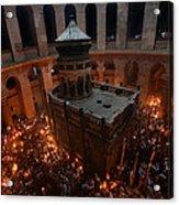 024 Jerusalem Acrylic Print