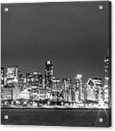 0248 Chicago Skyline Panoramic Acrylic Print