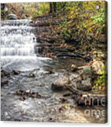 0278 South Elgin Waterfall Acrylic Print