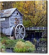 0290 Hyde's Mill Wisconsin Acrylic Print
