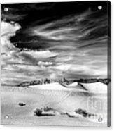 0293 Death Valley Sand Dunes Acrylic Print